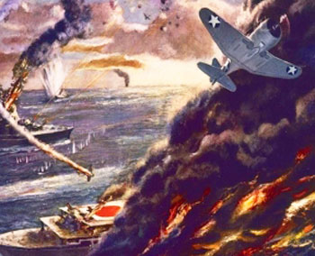 Battle of the Coral Sea - American Casualties of War, Gold