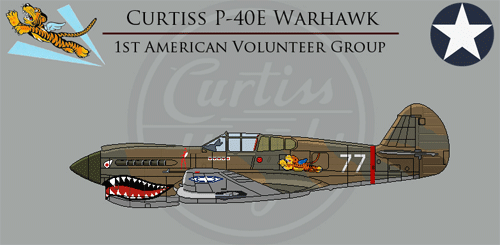 Flying Tigers - American Casualties of War, Gold Star Archive